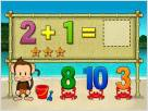 Monkey Math School Sunshine screenshot