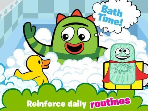 Yo Gabba Gabba Babies App Review Video