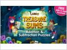 Treasure Sums - Lumio Addition & Subtraction screenshot
