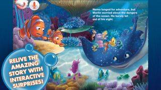 Best Apps For 4 Year Olds >> Finding Nemo Storybook Deluxe Review. An app for 4 year ...
