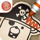 Pirate Scribblebeard's Treasure by Kidoodle - A Fingerprint Network App
