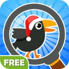 Find The Crow Winter HD FREE - hidden objects game for smart and attentive