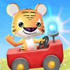 Little Tiger: Fire Truck, Submarine, Spaceship - Android Version