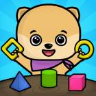 Shapes & colors toddlers games - kids puzzles free - Android Version
