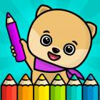 Kids coloring book - games for boys and girls free - Android