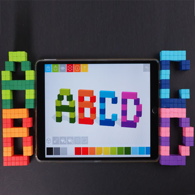 Make Magnetic Letters Pixel Art Style for School and Home Use