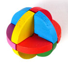 Magic Wooden Ball Puzzle  (also called Barr Puzzle)